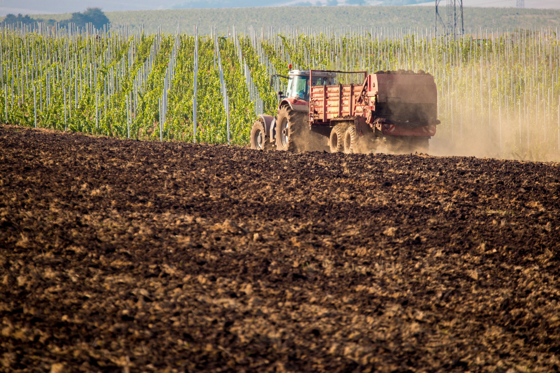 Manure Spreaders and Agricultural Establishments